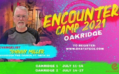 Kids Church Camp 2021-July 11-14