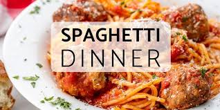 Homemade Meatballs & Spaghetti Fundraiser – November 14 Noon